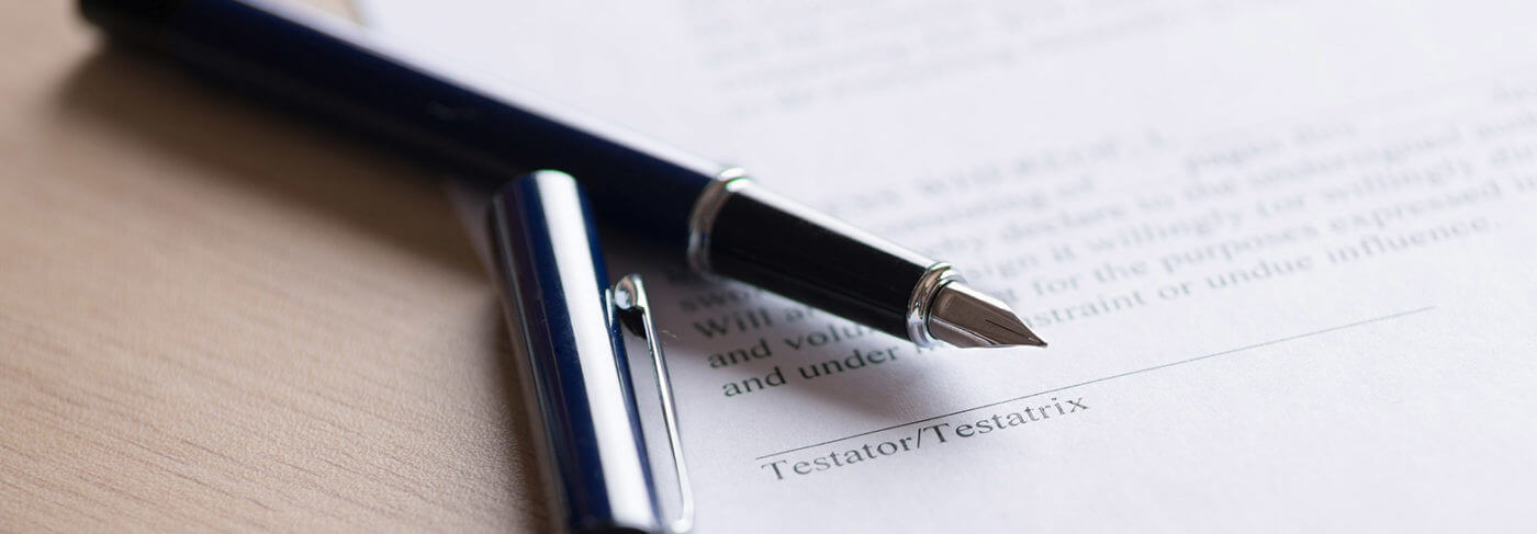 Giving thought to preparing a Will