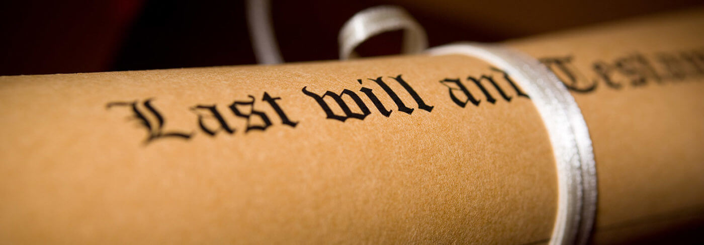 Planning Today for Tomorrow – Make a Will.